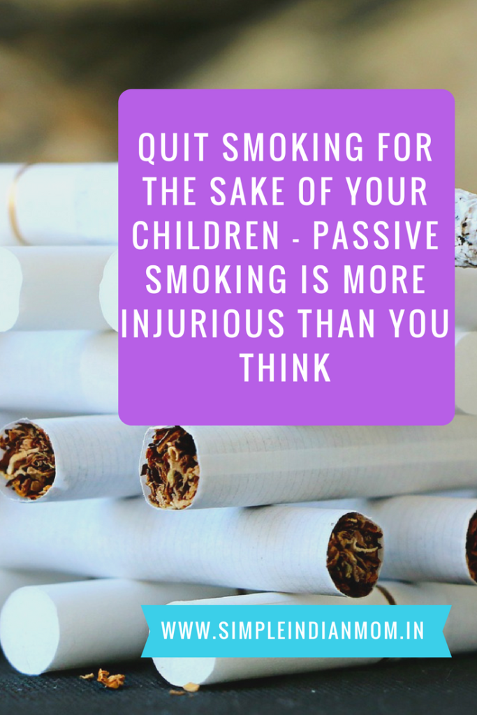 Quit Smoking For The Sake Of Your Children - Passive Smoking Is More Injurious Than You Think