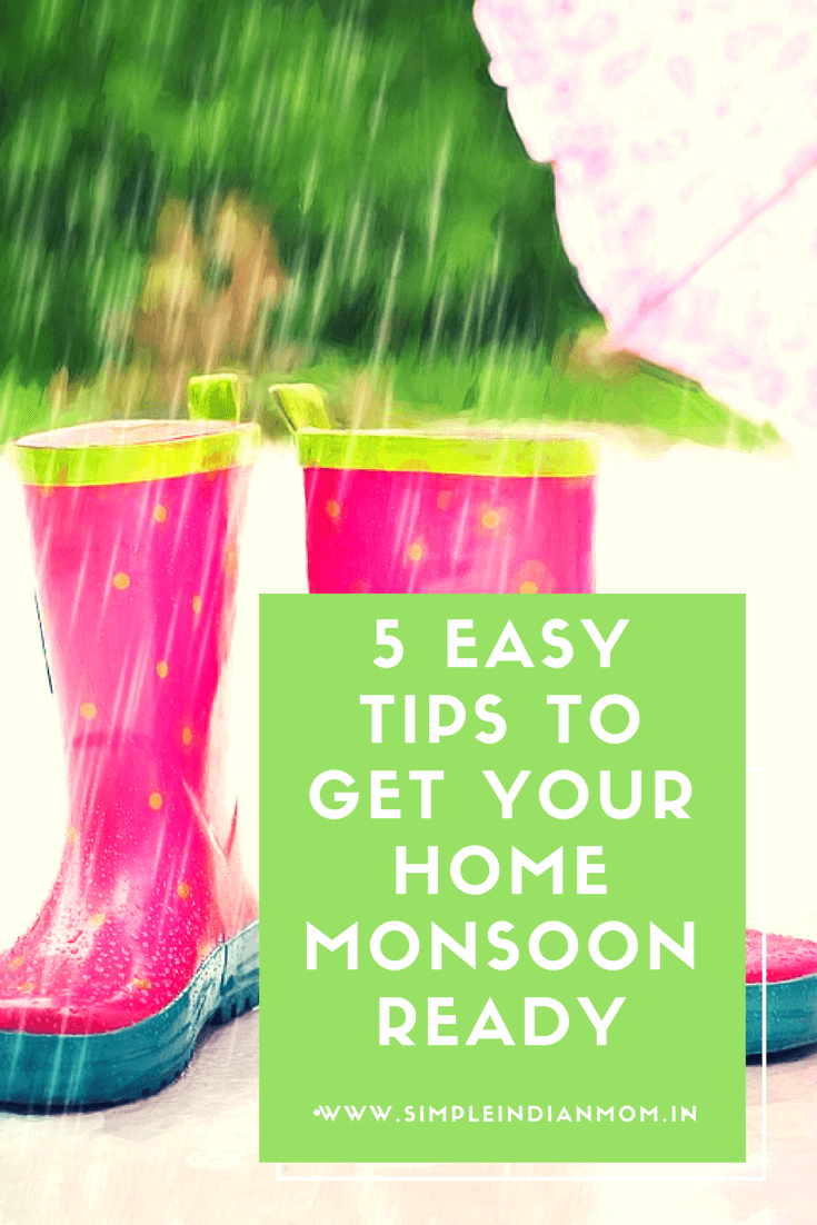 5 Easy Tips To Get Your House Monsoon Ready