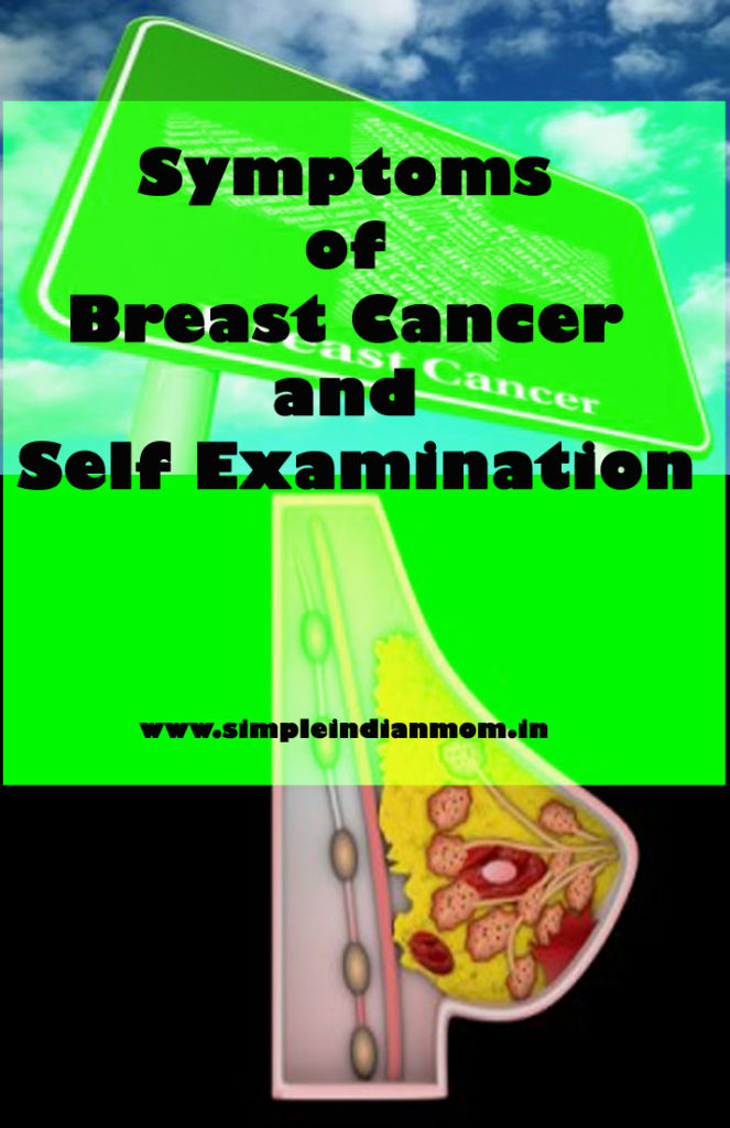 Symptoms of Breast Cancer and Self Examination