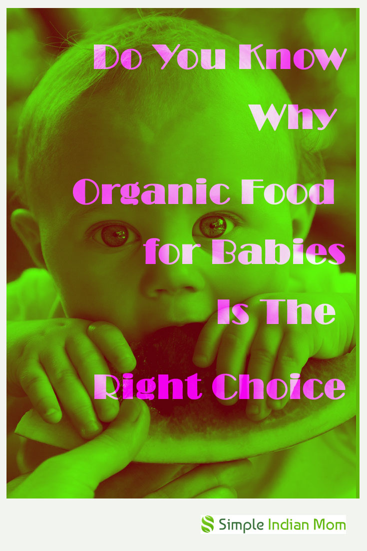 organic food for babies