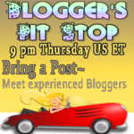 Blogger's Pit Stop #58