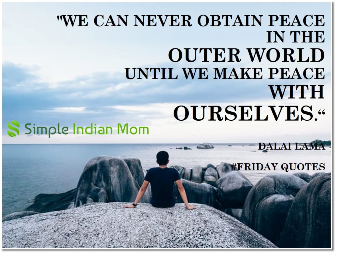 #FridayQuotes – Mindfulness – A Practice to Bring Peace and Joy