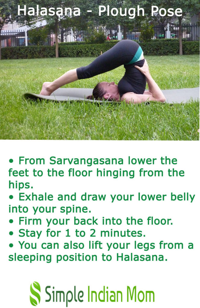 halasana - Yoga for thyroid