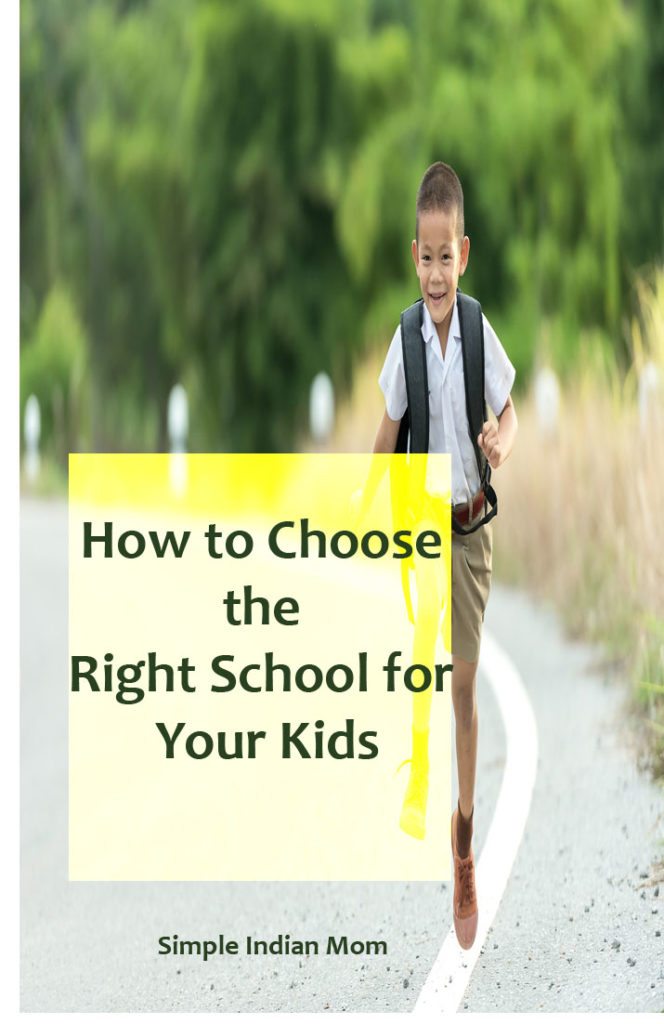 How to Choose the Right School for Your Kids