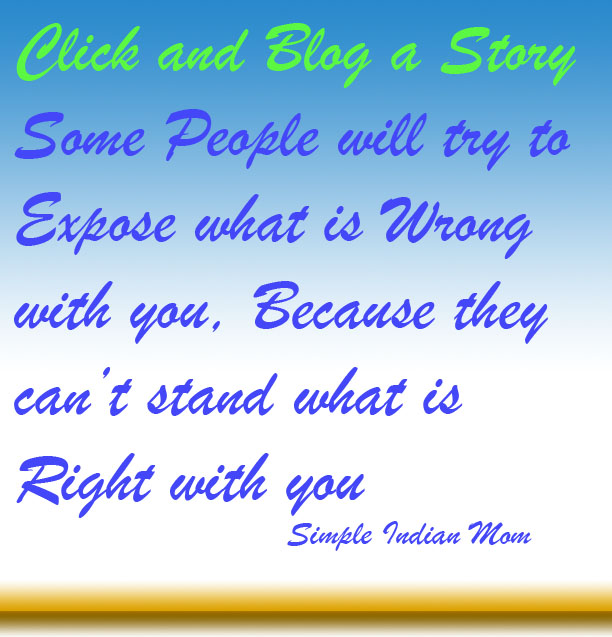Click and Blog a Story