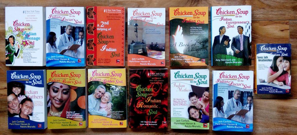 Raksha Bharadia - Chiken Soup books