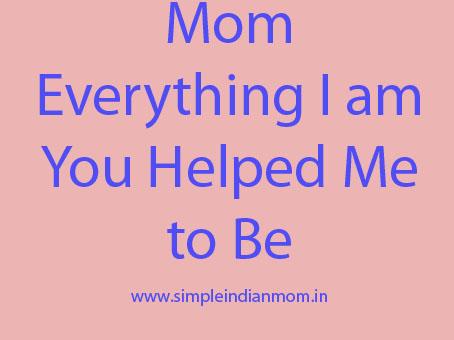 mom - My Inspired