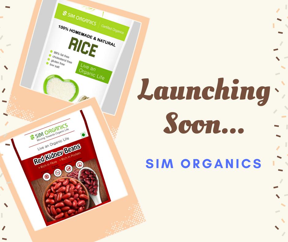 Launching SIM Organics This April