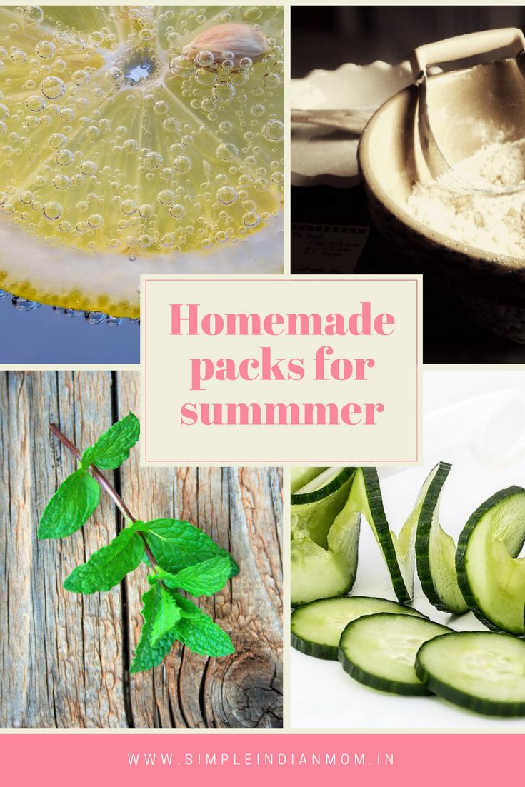 Homemade face pack - SIM Organics