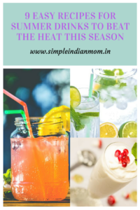 Recipes For Summer Drinks