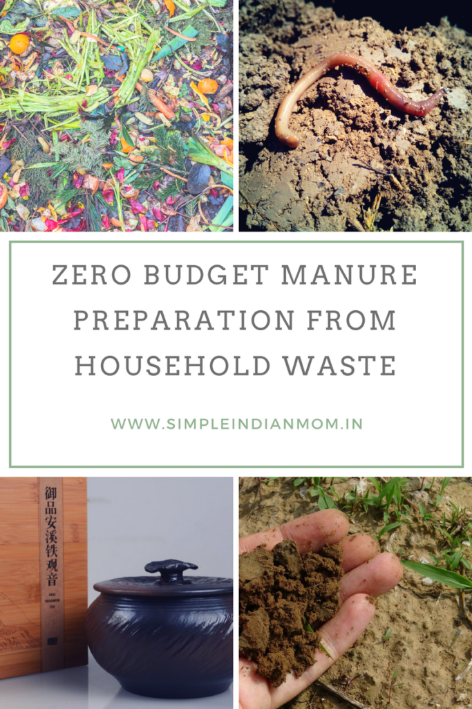 Zero Budget Manure Preparation From Household Waste