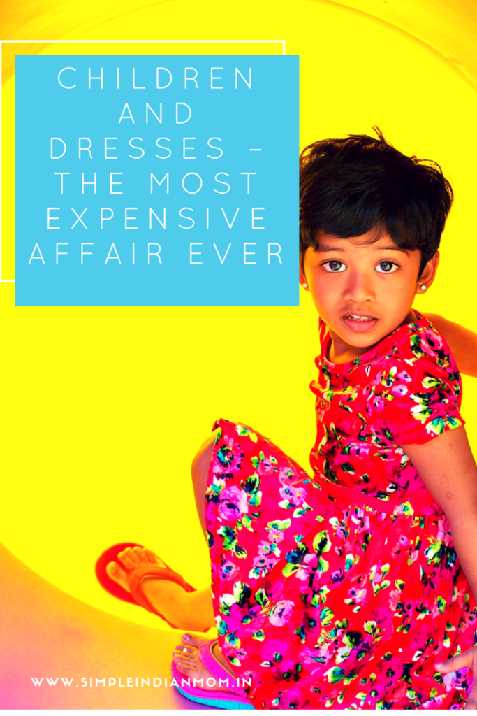 Children and Dresses – The Most Expensive Affair Ever
