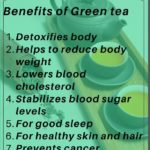 Health benefits Of Green Tea - From detoxifying body to inducing sleep and maintaining your skin and hair health