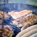 BBQ grilled meat and beef