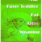 Fussy Toddler Eat After Weaning