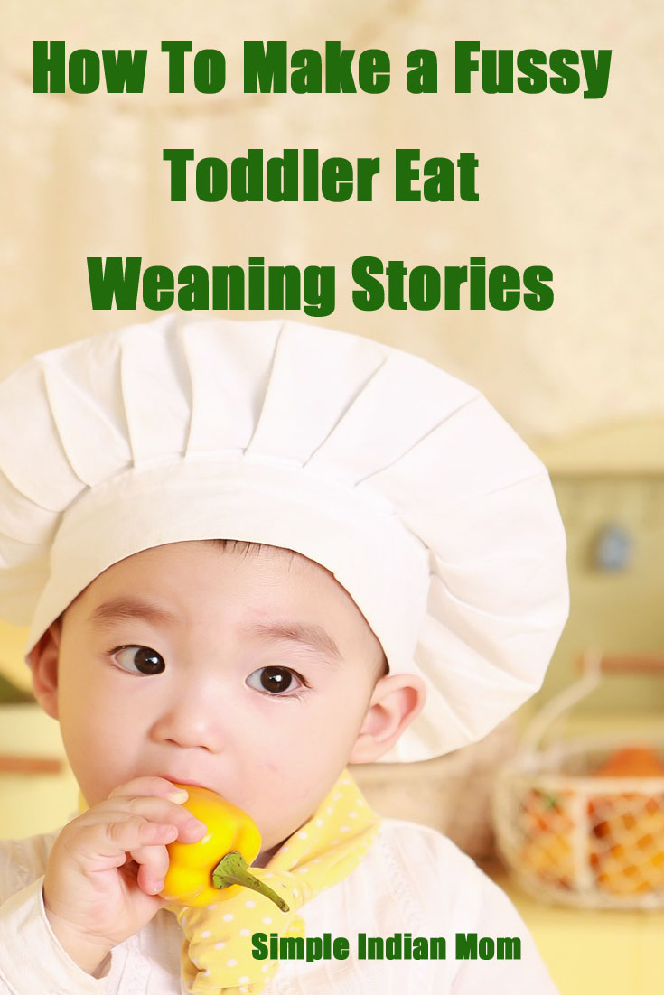 make a fussy toddler eat