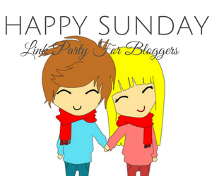 Happy Sunday is a link party where bloggers can help find each other