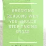 Stop Taking Sugar