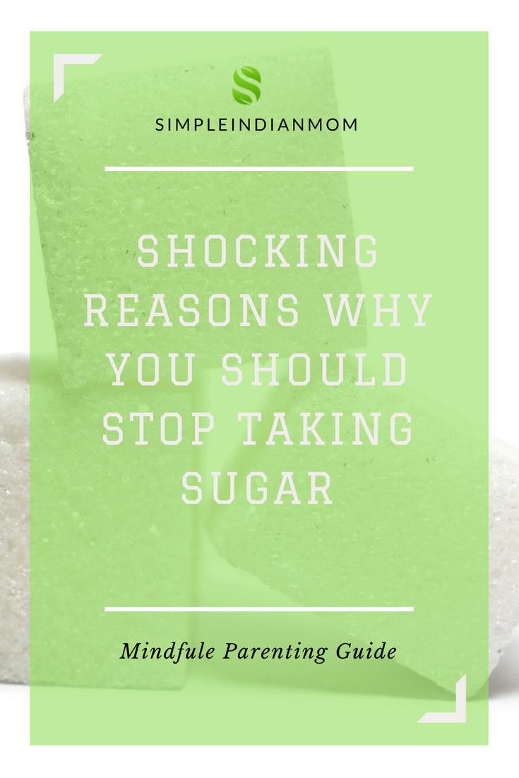 Reasons to stop taking Sugar