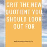 Grit The New Quotient