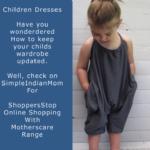 Magnetizing Children Dresses