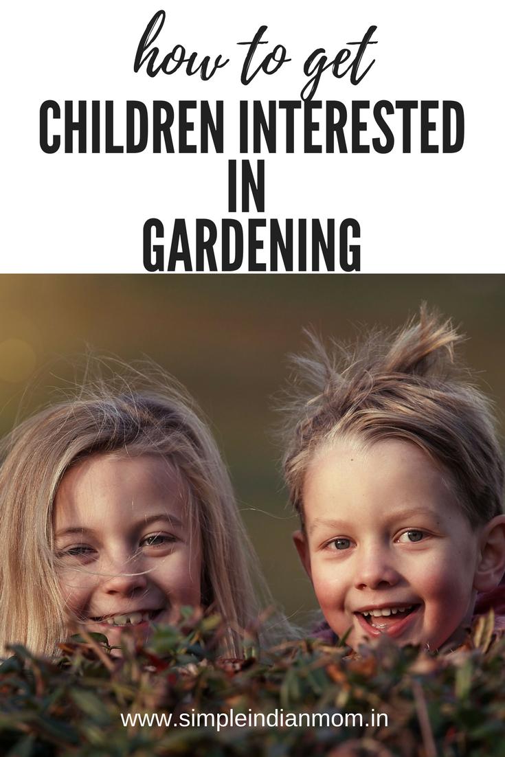 Children Interested In Gardening
