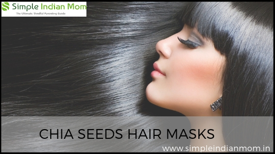 Chia Seeds Hair Masks